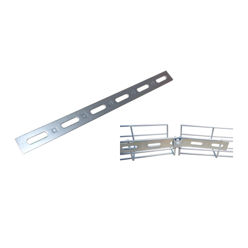Pemsa 67010053 | Pemsa Rejiband Electrogalvanised Silver Wire Basket Tray Splice Plate