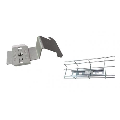 Pemsa 67030049 | Pemsa Rejiband Channel Wire Basket Tray Fast Click Strut Clip