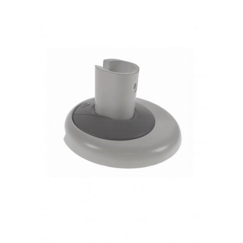 White / Grey Air Through Desk Fixing Kit (Each)