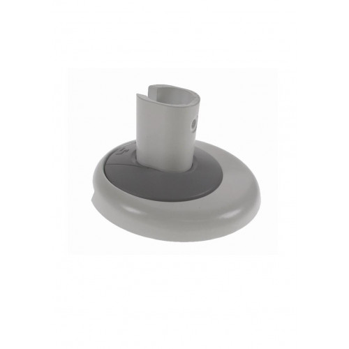 CMW Ltd Desk Cable Management | White / Grey Air Through Desk Fixing Kit