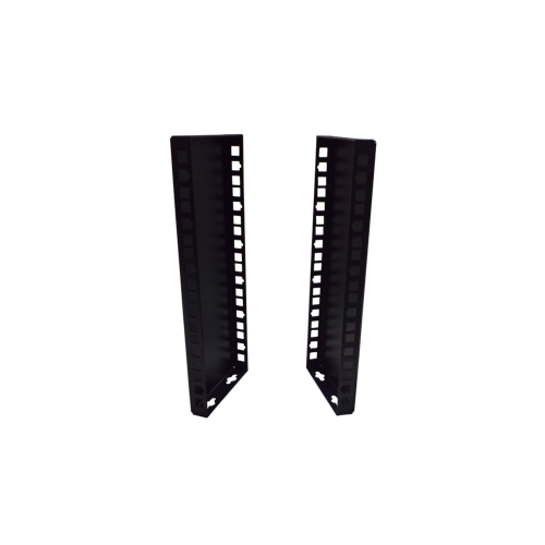 CMW Ltd  | 6U 10/19 inch Multipurpose Wall or Desk Vertical Horizontal Bracket- Pair - Black (Per pair)