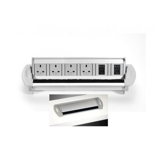 CMW Ltd    4 x Power Sockets & 2 x Cat5e Data Outlets