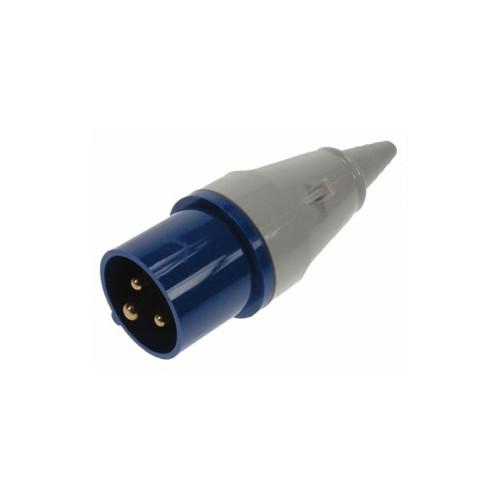 CMW Ltd Power Distribution Units | 8 Way Vertical PDU to 16a Commando Plug with 3m plug lead