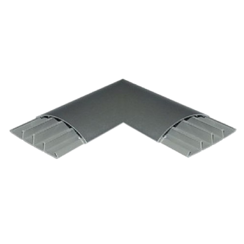 90 Degree Right Angle Floor Cable Cover (Each)
