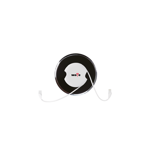 White Wave Wireless Charging Receiver (Each)