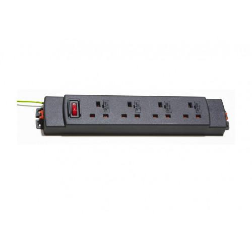 CMW Ltd  | 4 way modular power unit, one master switch