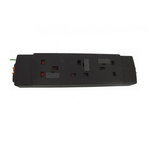 CMW Ltd  | 3 way modular power unit, no switch