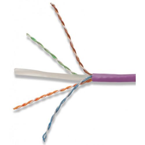 Siemon 9C6B24-E3-08R1A   Siemon Cat6 305m Cable LS0H Violet UTP 23awg Drum - Class B2ca (305 Metre)