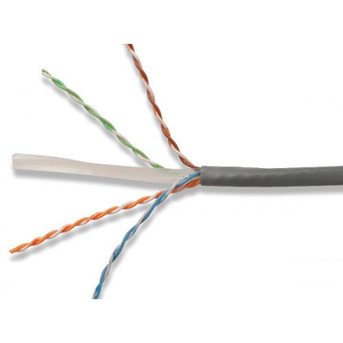 Siemon Cat6 305m Cable LS0H Violet UTP 23awg Reelex Box - Class Dca (305 Metre)