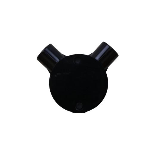 20mm Black Angle Box (Each)