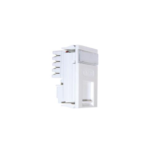 CMW Ltd  | Matrix LJ6C RJ45 Cat5e UTP Single Shuttered Module - White