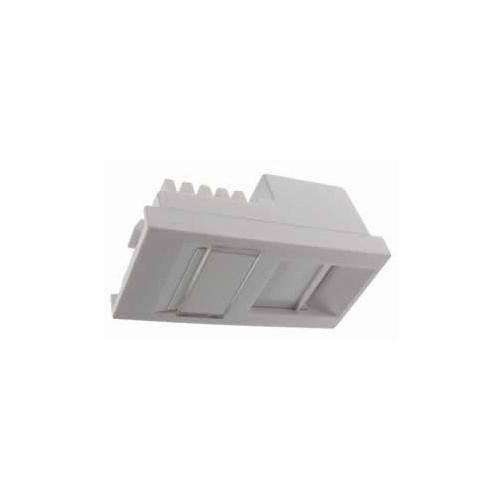 CMW Ltd  | EURO Cat6 Low Profile 50x25 RJ45 U/UTP LSA Single Shuttered Module White-Matrix