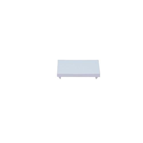 Matrix Euro Faceplate White Blanking Plate -25 x 50 - Half (Each)