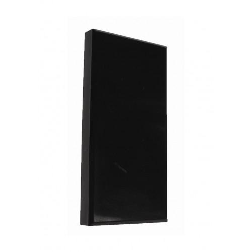 CMW Ltd  | Black 50 x 25mm Half Blanks
