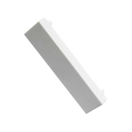 CMW Ltd    Matrix Euro Faceplate White Blanking Plate -12.5 x 50 - Quarter