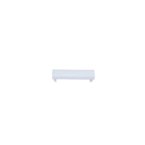 Matrix Euro Faceplate White Blanking Plate -12.5 x 50 - Quarter (Each)