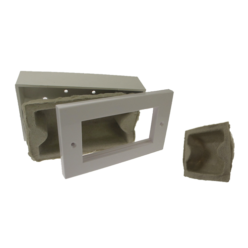 ASTROFLAME Fire Protection,  AFFRASOCSIN   Single Gang Fire Rated Socket Box Insert