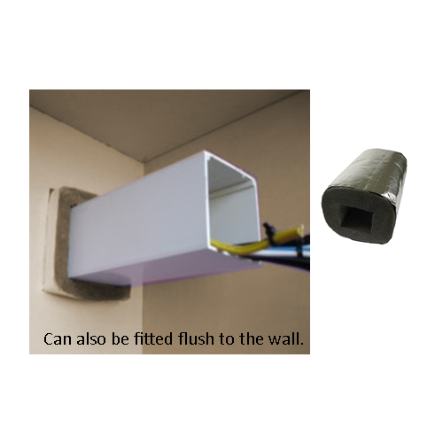 CMW Ltd AFFTS50 | 50mm x 50mm Fire Protection Trunking Sleeve, reinstates fire rating a wall, 2 hours fire protection.