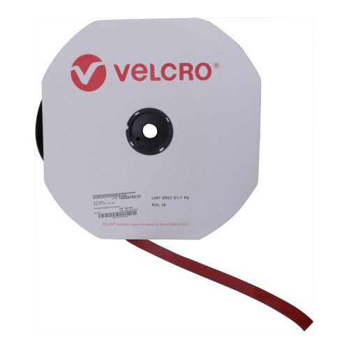 Velcro ALOK0253C0PPSA641125 | VELCRO® Brand ALFA-LOK® 6411 Adhesive Self-Engaging Tape 25m