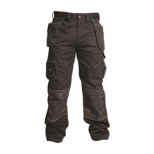 "Apache workwear,  APKHTBLK | Black Holster Trousers Waist 34"" Leg 31"""