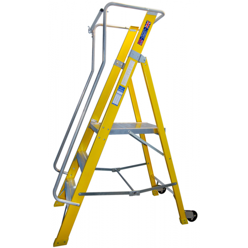 CMW Ltd  | 4 Tread EN131All Round Glass Fibre Steps