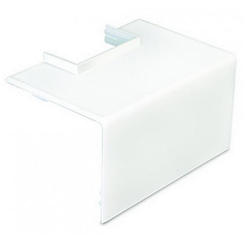 Dietzel Univolt PVC White Dado Trunking Starline 3 Compartment Square Mini Trunking Adaptor (Each)