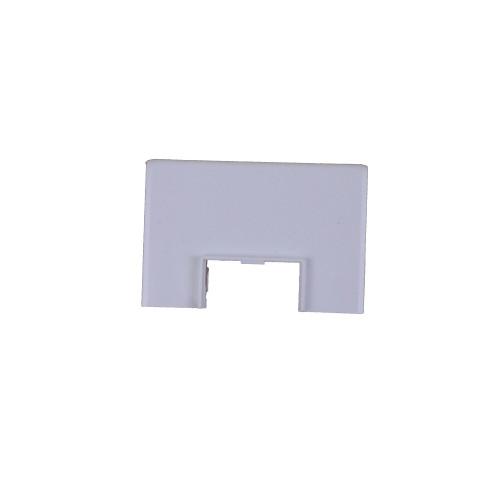 Univolt AS50/170   Dietzel Univolt PVC White Dado Trunking Starline 3 Compartment Square Mini Trunking Adaptor