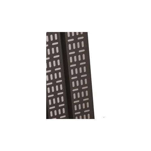 37U  Cable Tray 150mm Wide Black-Matrix (Each)