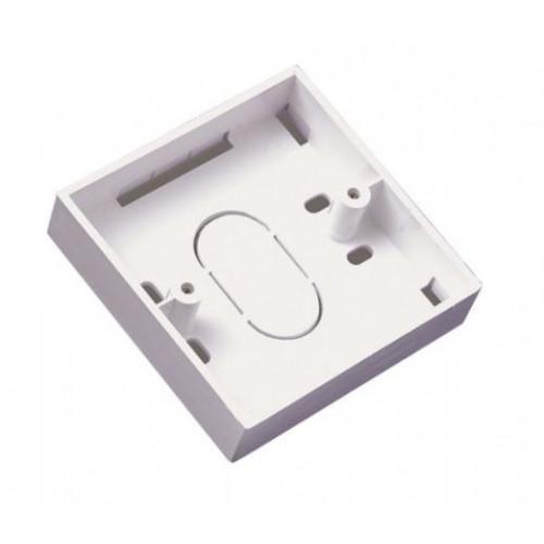 21mm Deep PVC Surface Back Box (Each)