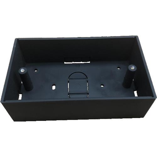 CMW Ltd  | Black 44mm Double Gang Surface Box