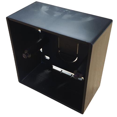 CMW Ltd  | Black 44mm Single Gang Surface Box