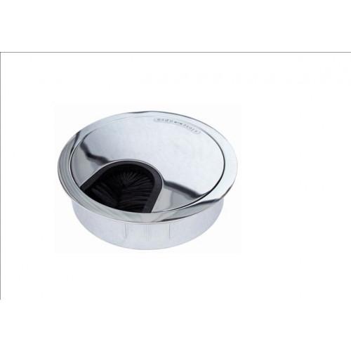 DGBC80 CMW Ltd, Desk Cable Management | Bright Chrome 80mm Desk Grommet