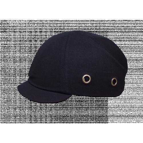 CMW Ltd    Black Short Peak Bump Cap