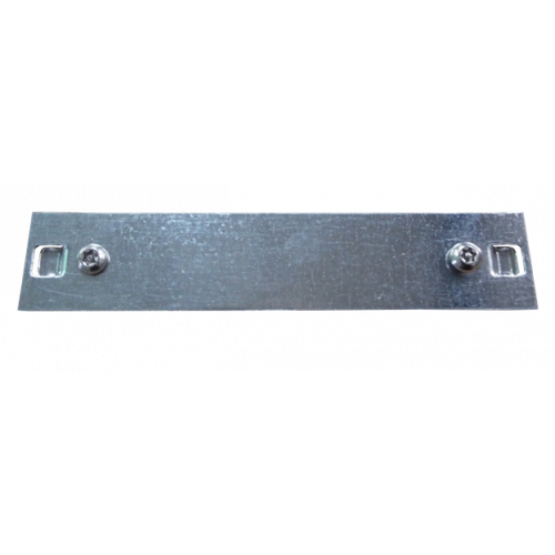 150mm Galvanised Box Trunking Bar Fix with Screws (Each)