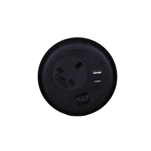 CMW Ltd  | Black Combo Unit with HDMI, USB A & C
