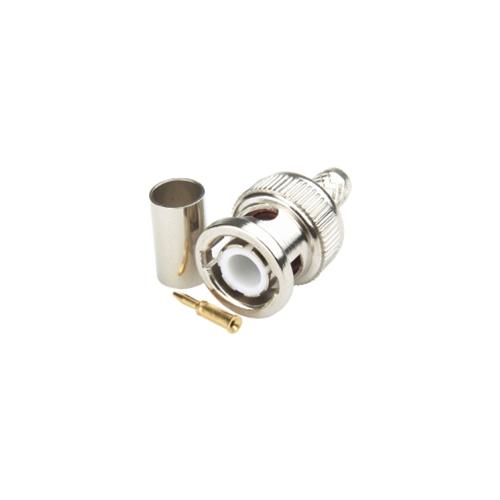 Folksafe BNC | BNC Crimp Plug Connectors for RG59 Coax Pack 50 (Bag / 50)