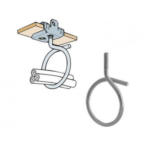 Britclips Support M6 Metal Bridle Ring (Box/50)