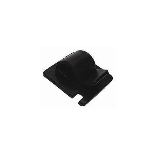 Black     Self-Adhesive Cable Clips (Bag / 100)