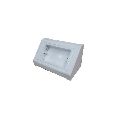 Dietzel Univolt uPVC BT-2G | Dietzel Univolt PVC White, 2 Gang Bench Trunking Box