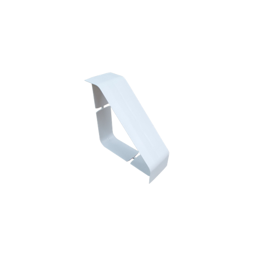 Dietzel Univolt uPVC White Bench Trunking Coupler (3m lgth)