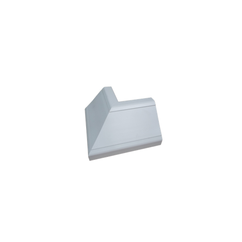 White Bench Trunking External Bend (Each)