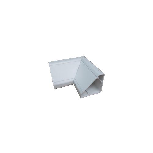 White Bench Trunking Internal Bend (Each)