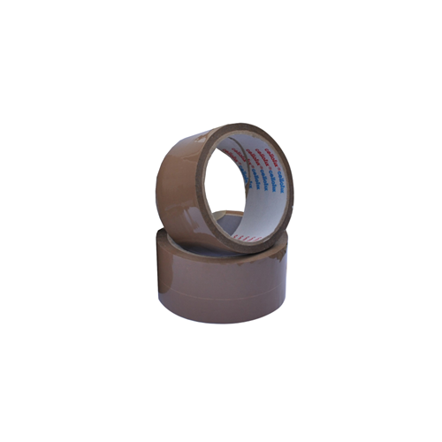 Low Noise 48mm Vinyl Brown Packing Tape (66m roll)