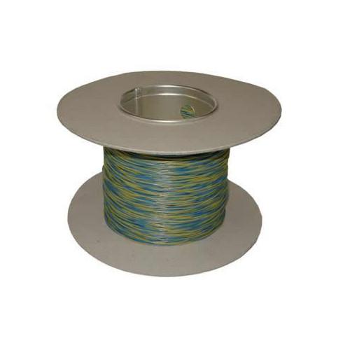 CMW Ltd  | Blue /Yellow 0.5mm CW1109 Jumper Wire 200m Reel (200m Reel)
