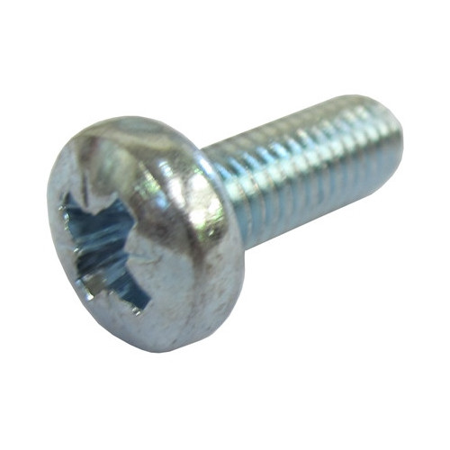 M6 x 16mm BZP Machine Screws Pack of 50 (Bag / 50)