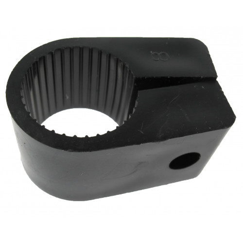 CMW Ltd  | 32mm Black Nylon Conduit Cleats