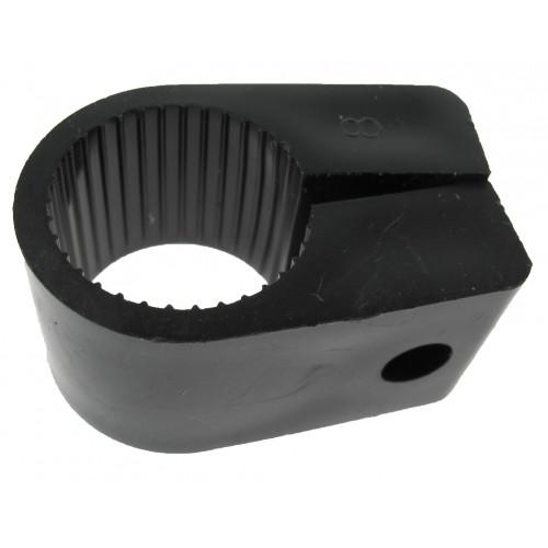 CMW Ltd  | 32mm Black Nylon Conduit Cleats
