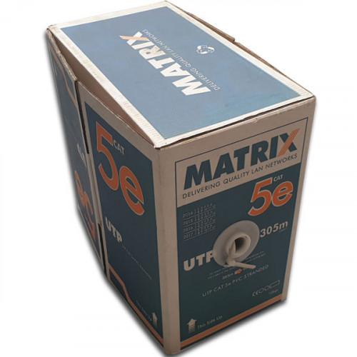 CMW Ltd  | Matrix Cat5e-PVC Stranded Patch Cable (305m Box)