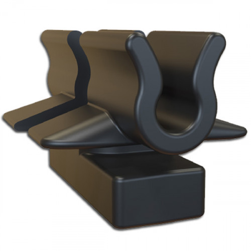 CMW Ltd  | Black Basket Tray Clips-Quick Twist