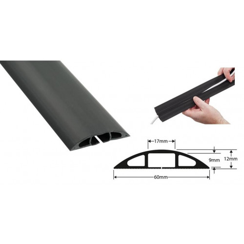 Floor Cable Protector ( 9m long ) (9m lgth)